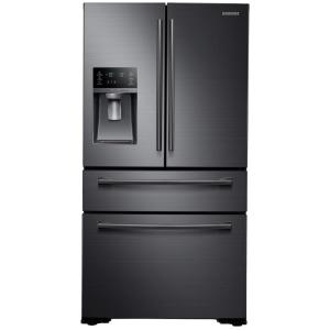 Samsung 29.7 cu. ft. French Door Refrigerator in Black Stainless Steel by Samsung