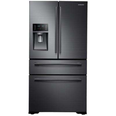 29.7 cu. ft. French Door Refrigerator in Black Stainless Steel