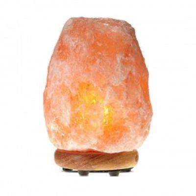 8.32 in. 7-11 lbs. Ionic Crystal Natural Salt Lamp