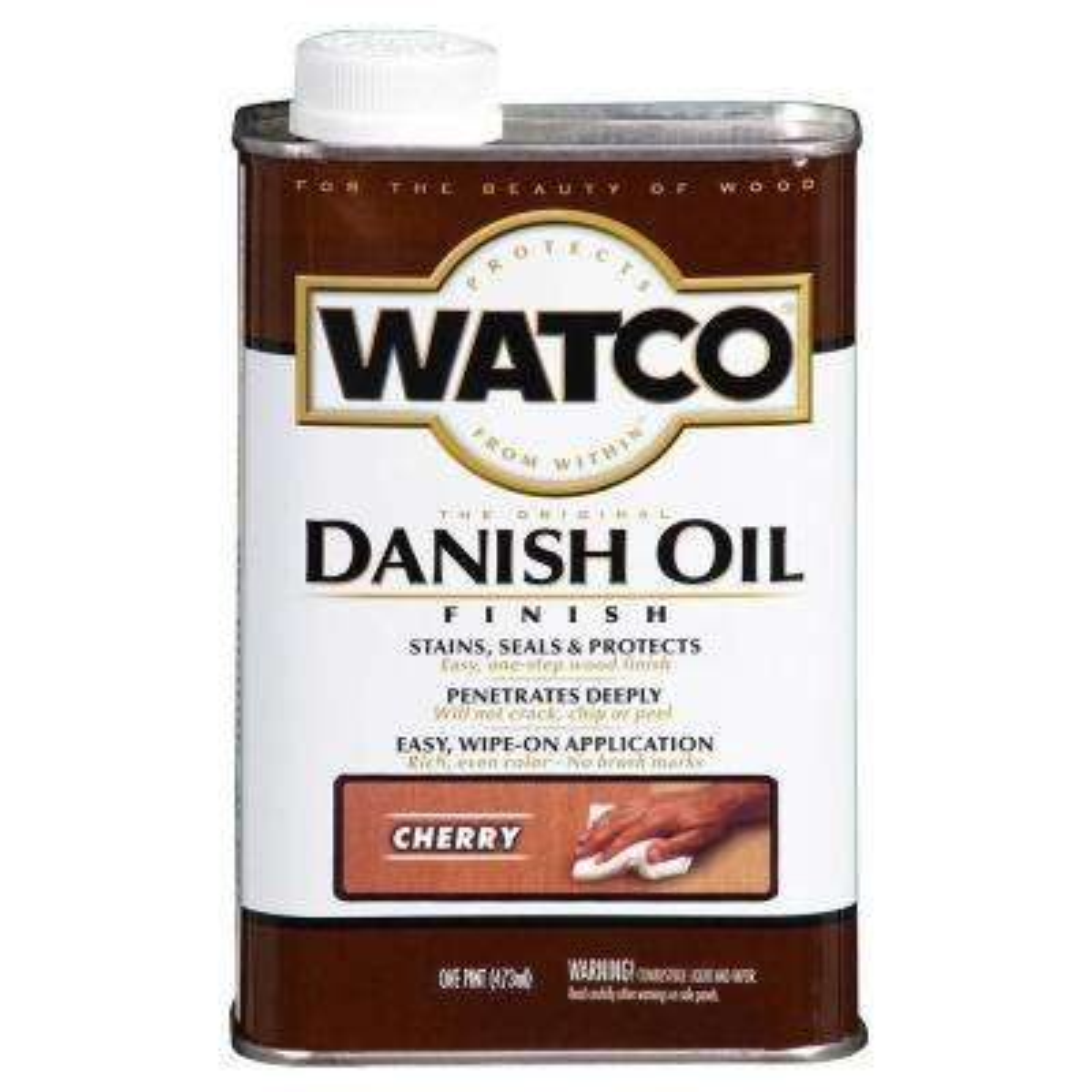 1 pt. Cherry 275 VOC Danish Oil (Case of 4)