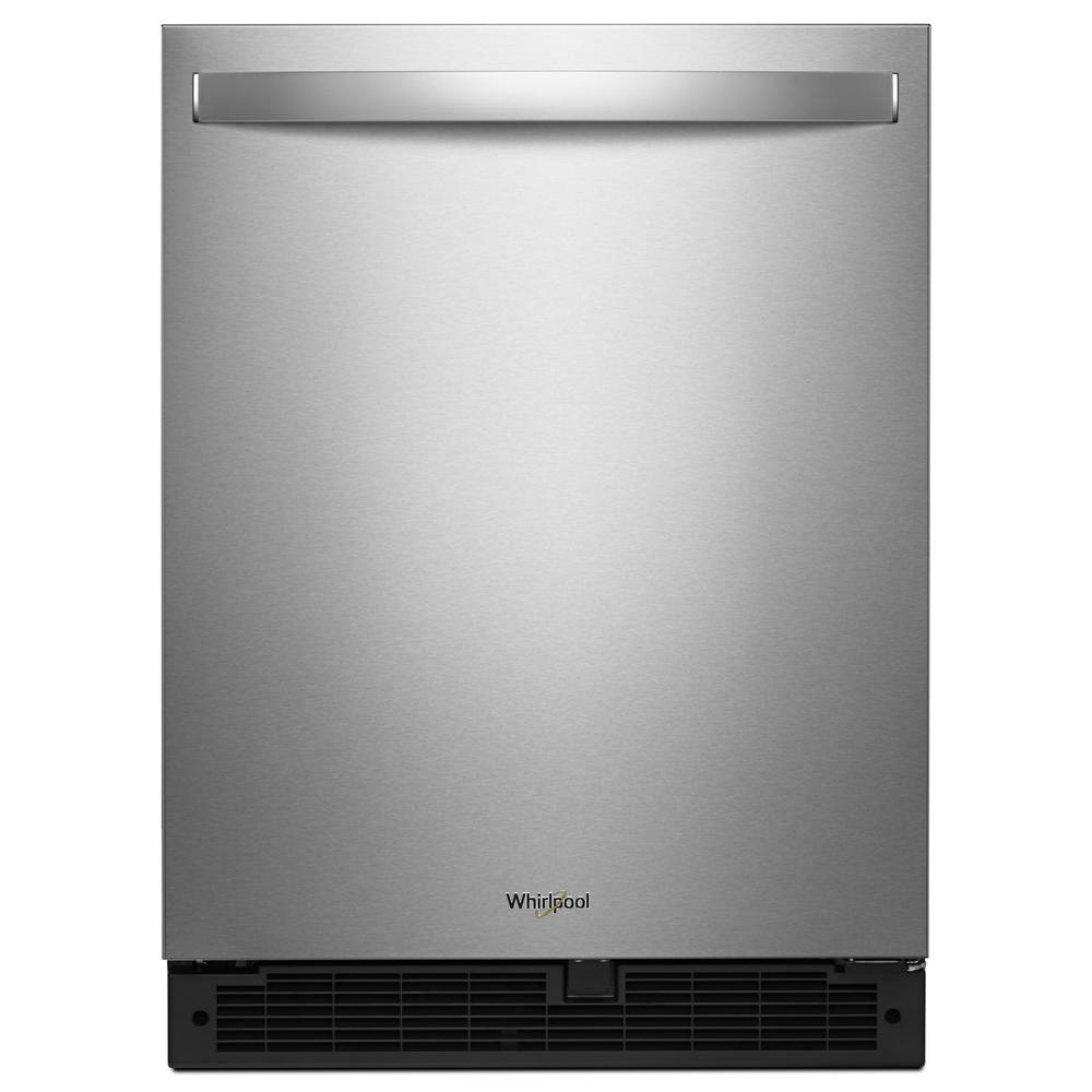 whirlpool 5 1 cu ft undercounter refrigerator in. Black Bedroom Furniture Sets. Home Design Ideas