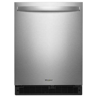24 in. W 5.6 cu. ft. Undercounter Refrigerator in Fingerprint Resistant Stainless Steel