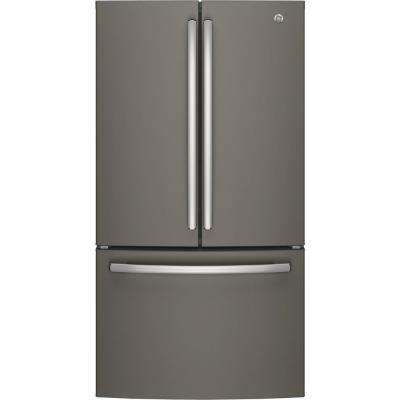 27.0 Cu. Ft. French-Door Refrigerator ENERGY STAR in Slate, Fingerprint Resistant