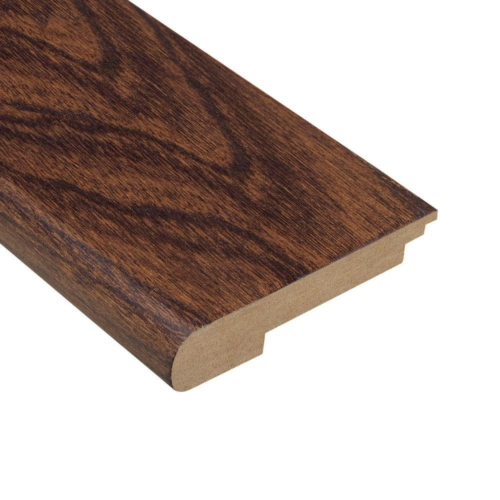 Home Legend Elm Walnut 1/2 in. Thick x 3-1/2 in. Wide x 78 in. Length Hardwood Stair Nose Molding