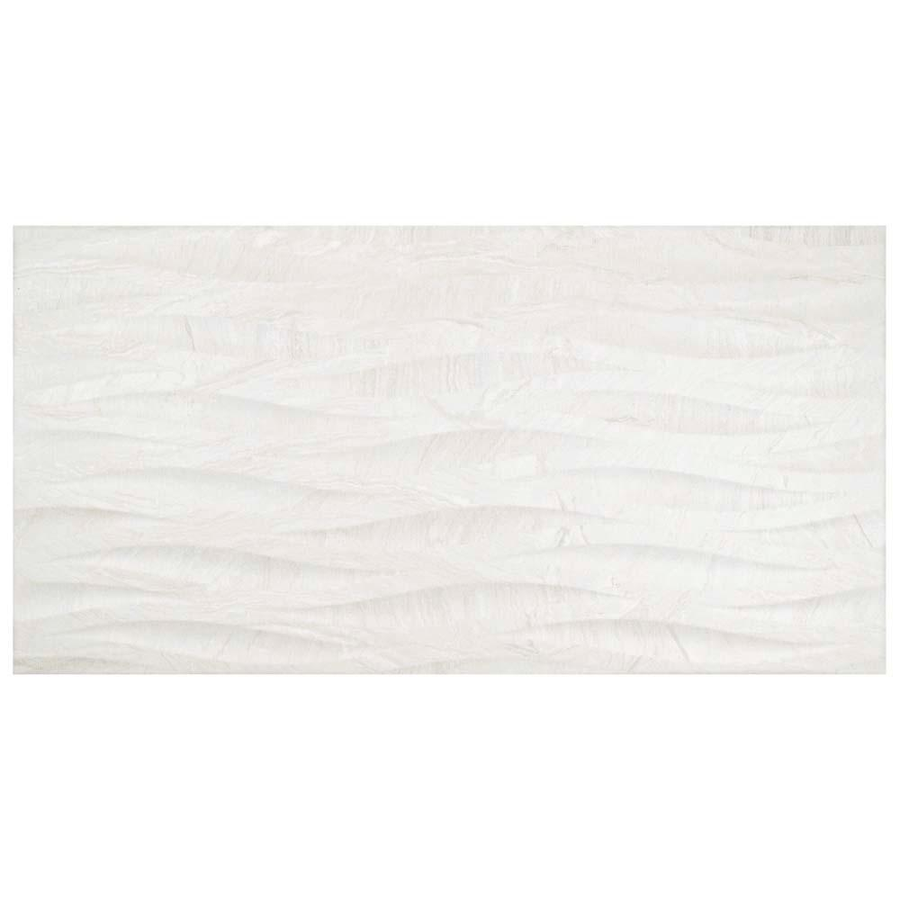merola tile varana blanco deco in x in porcelain wall tile sq ft the home depot