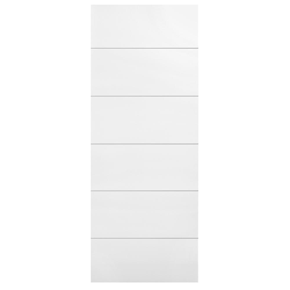 28 in. x 80 in. Melrose Primed Hollow Core Composite Interior