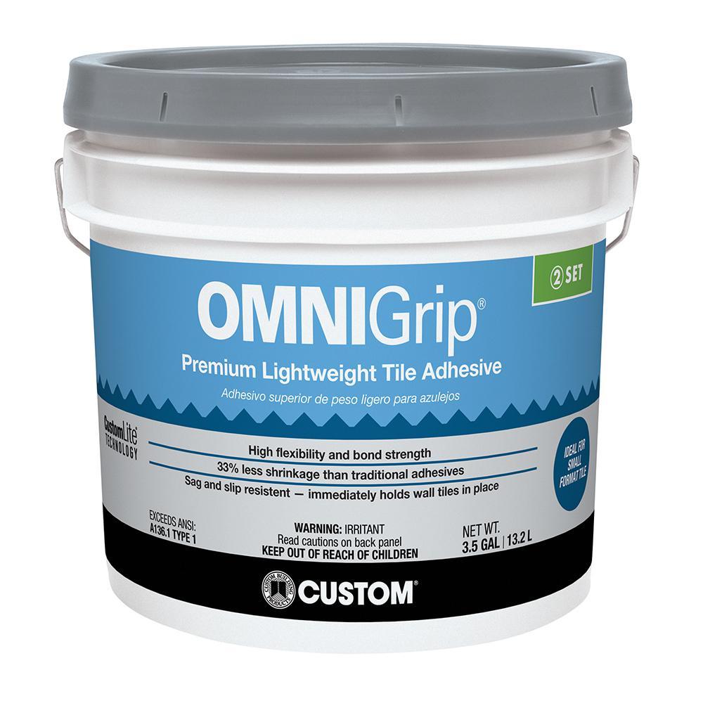 Custom Building Products OmniGrip 3-1/2 Gal. Maximum Strength Adhesive by Custom Building Products