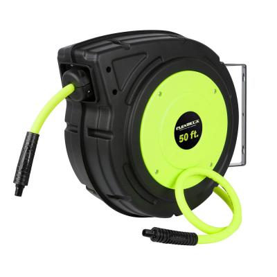3/8 in. x 50 ft. Enclosed Retractable Air Hose Reel with 1/4 in. MNPT Fitting