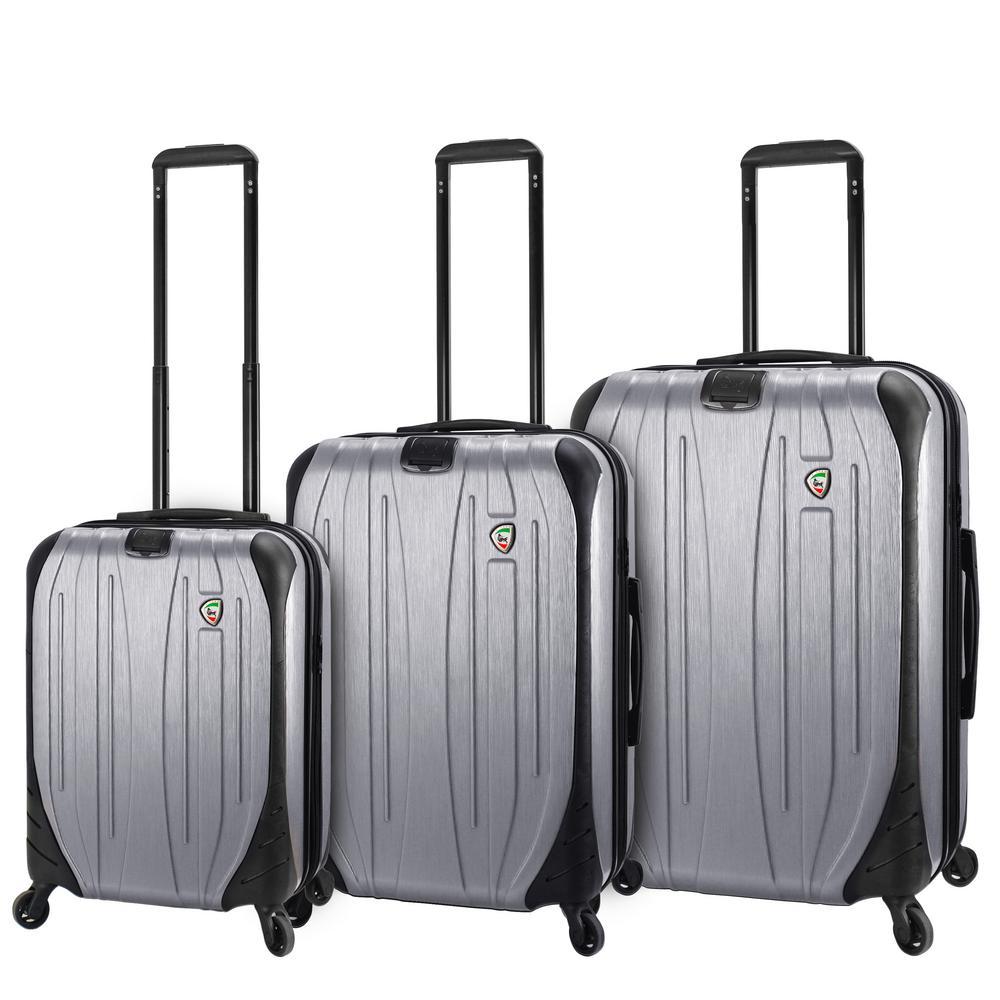 Ferro 3-Piece Aluminum Hardside Spinner Luggage Set