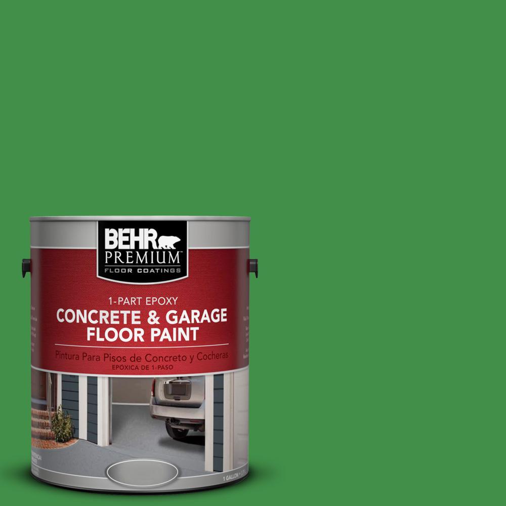 1 gal. #P390-7 Park Picnic 1-Part Epoxy Concrete and Garage Floor Paint