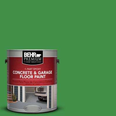 1 gal. #P390-7 Park Picnic 1-Part Epoxy Concrete and Garage Floor Paint