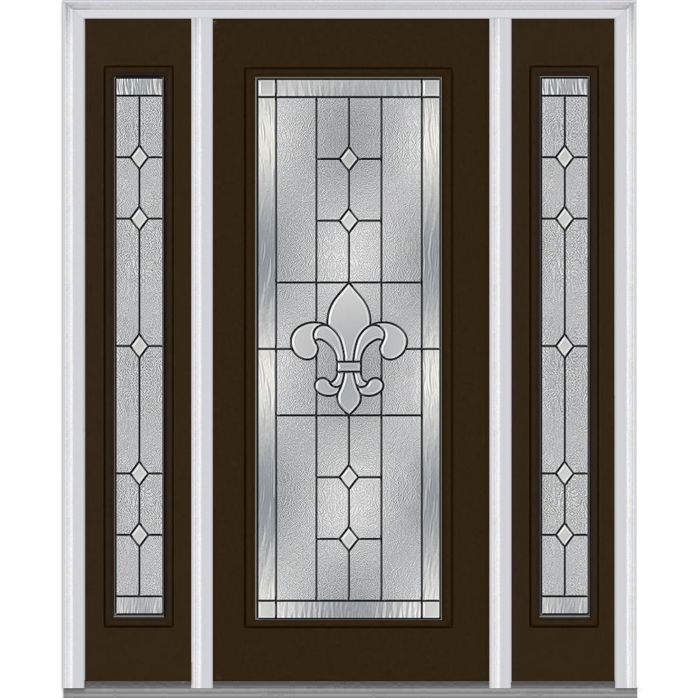 Mmi Door 64 In X 80 In Carrollton Right Hand Inswing Full Lite