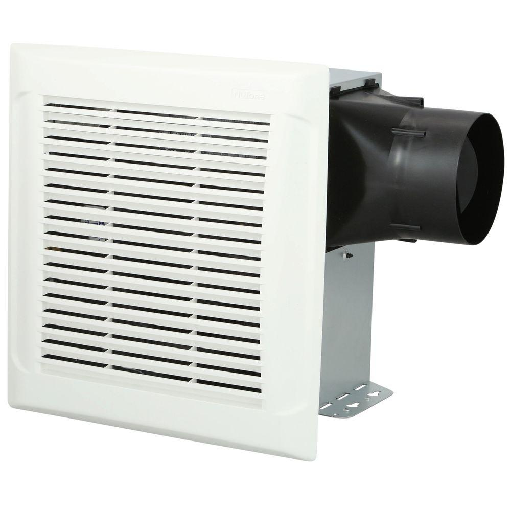 Nutone 50 cfm wall ceiling mount exhaust bath fan 696n the home depot for Installation of bathroom exhaust fan