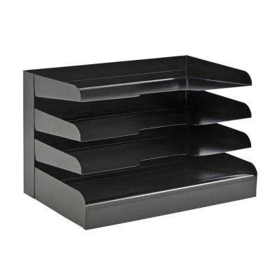 Classic 4-Tier Legal Size Desktop Organizer