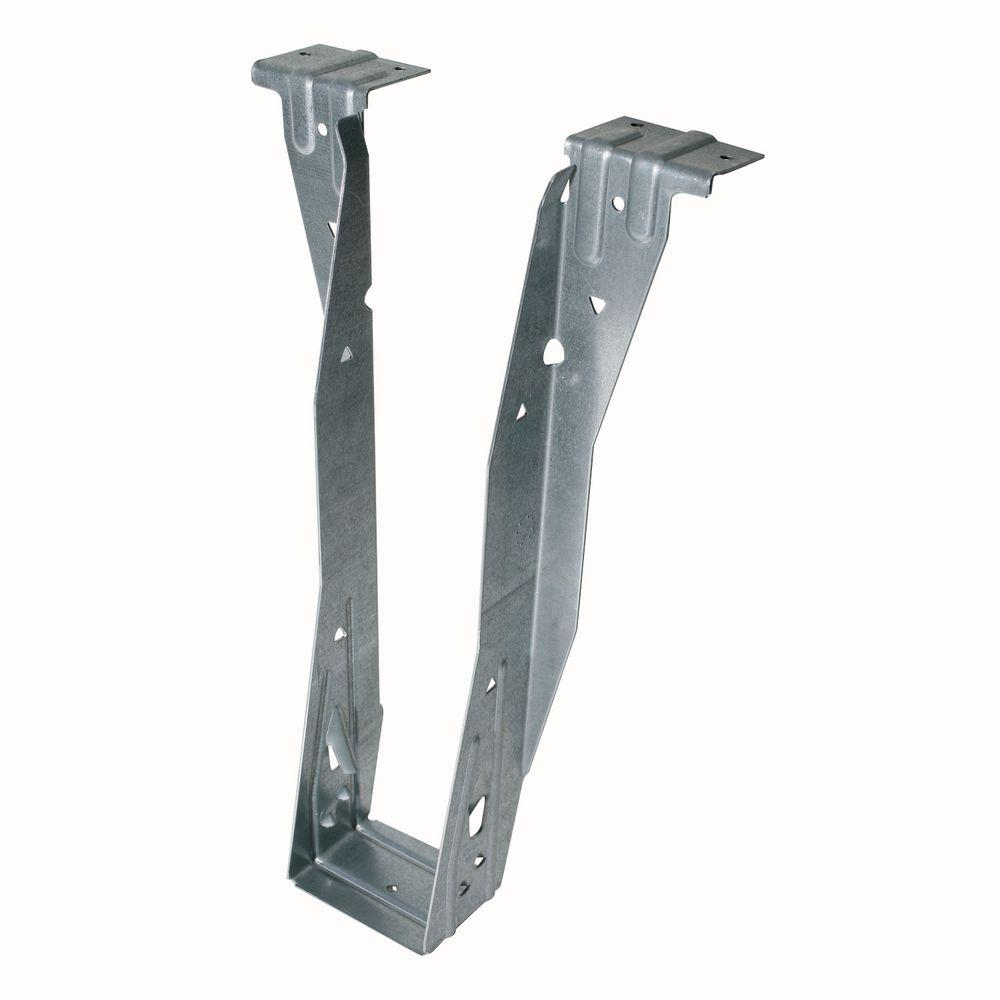 simpson strong tie 2 5 8 in x 11 3 16 in top flange i joist hanger the home depot. Black Bedroom Furniture Sets. Home Design Ideas