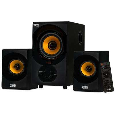 Bluetooth Home 2.1 Speaker System with USB and SD Multimedia