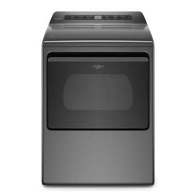 7.4 cu. ft. Chrome Shadow Front Load Electric Dryer with AccuDry System