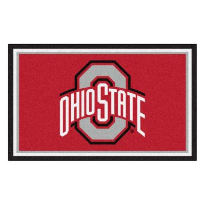Ohio State University 4 ft. x 6 ft. Area Rug