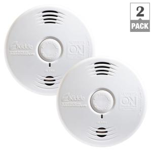 Kidde Worry-Free 10-Year Battery Combination Smoke and CO Alarm with Voice... by Kidde