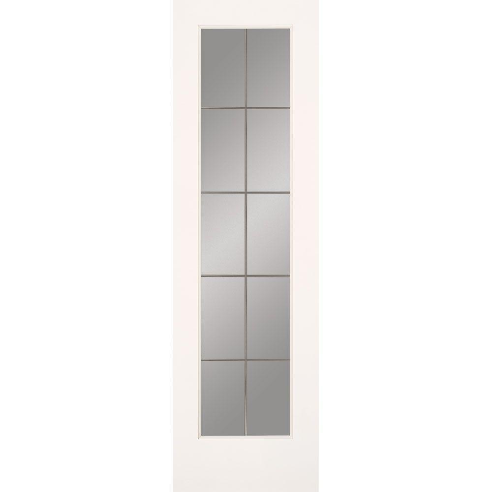 Feather river doors 24 in x 80 in 10 lite illusions for 10 light door