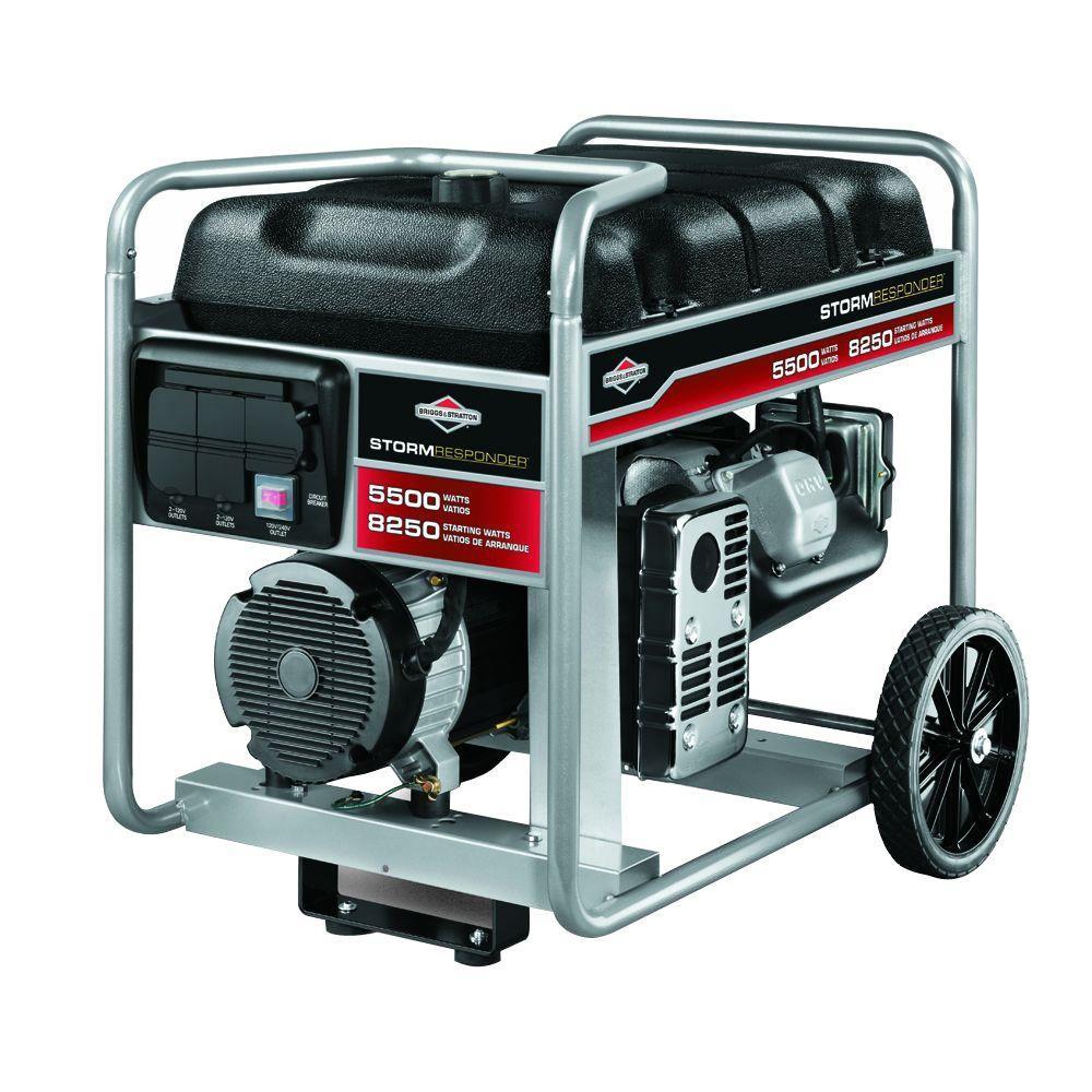 Generac GP 5,500-Watt Gasoline Powered Portable Generator with 20 ft on generac 5000 watt portable generator, generac 5000 sjp, generac centurion 5000 watt generator, generac 5000 watt power plus, generac 10 hp 5000 watt generator, generac 5000 s owner manual, generac 5000 parts,