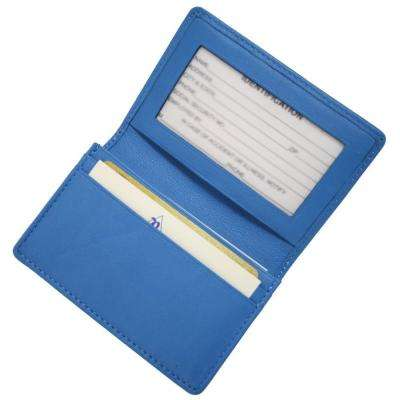 Executive Business Card Case in Genuine Leather