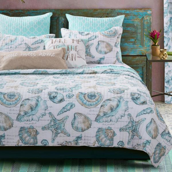 Barefoot Bungalow Cruz 3-Piece King Quilt Set GL-1709GMSK