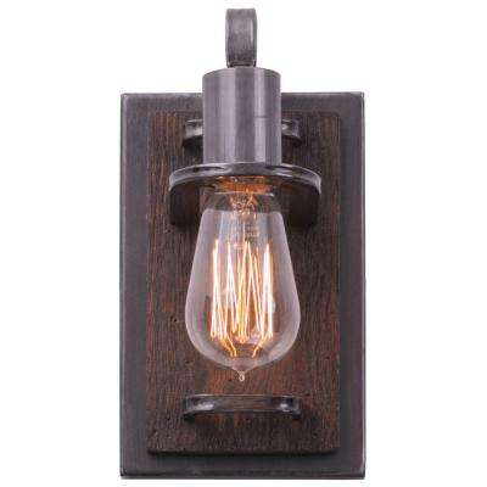 Lofty 1-Light Steel Vanity Light