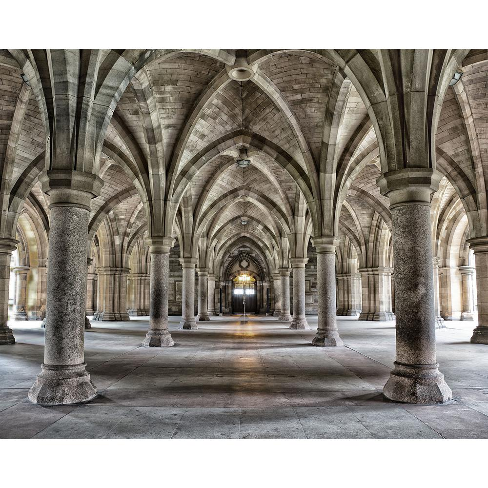 Gothic Arches Wall Mural WR50556 The Home Depot