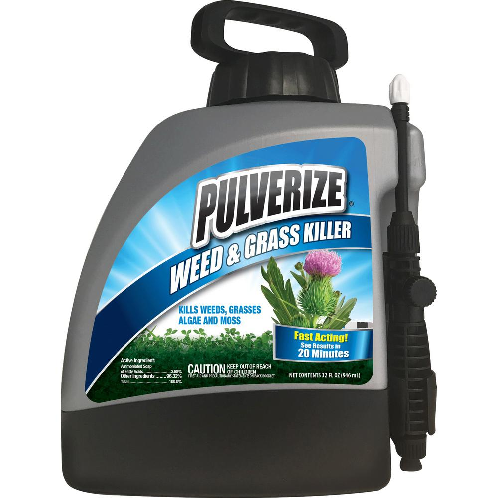 Pulverize 1 33 Gal  Non-Selective Weed and Grass Killer RTU