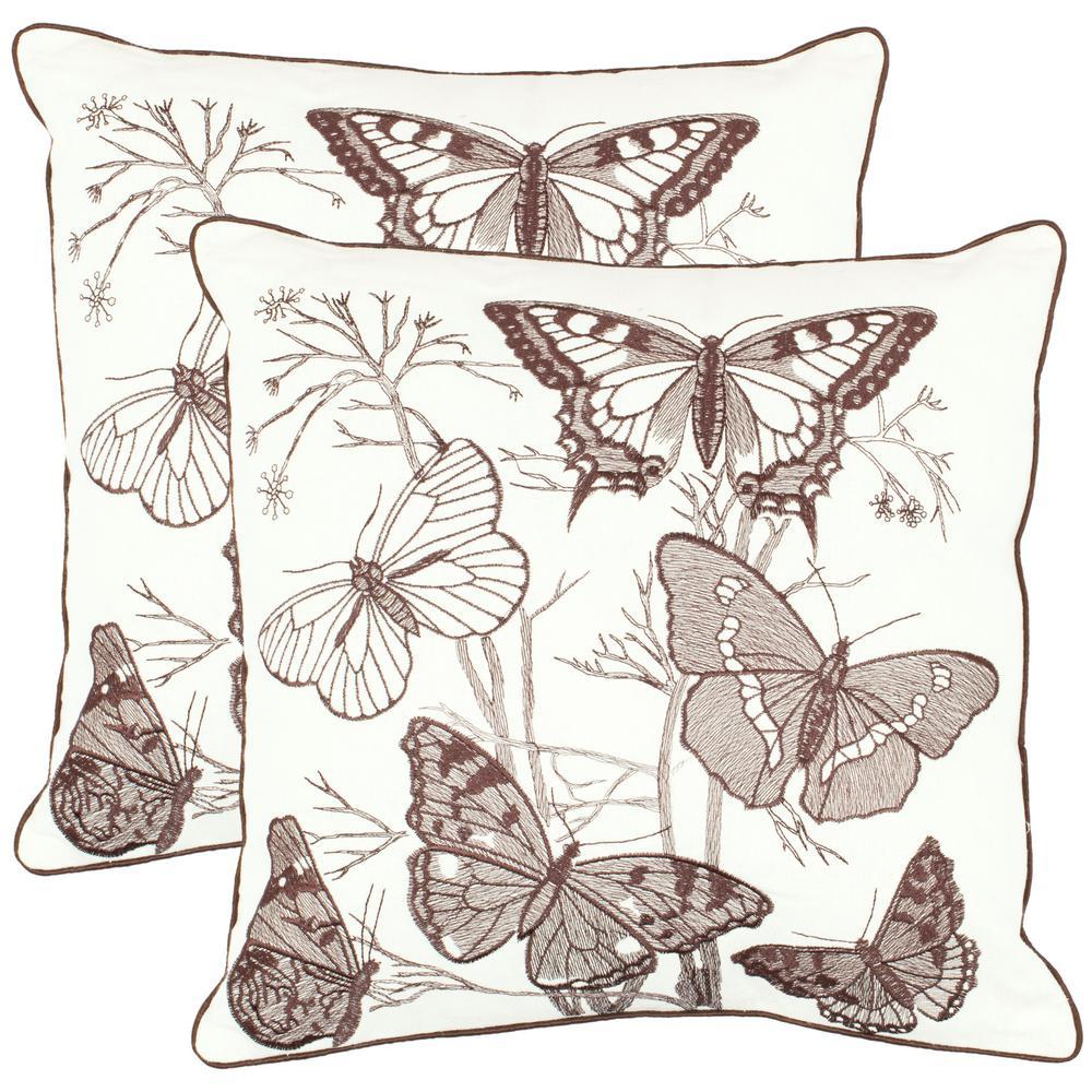 Flutter Nature Pillow (2-Pack)