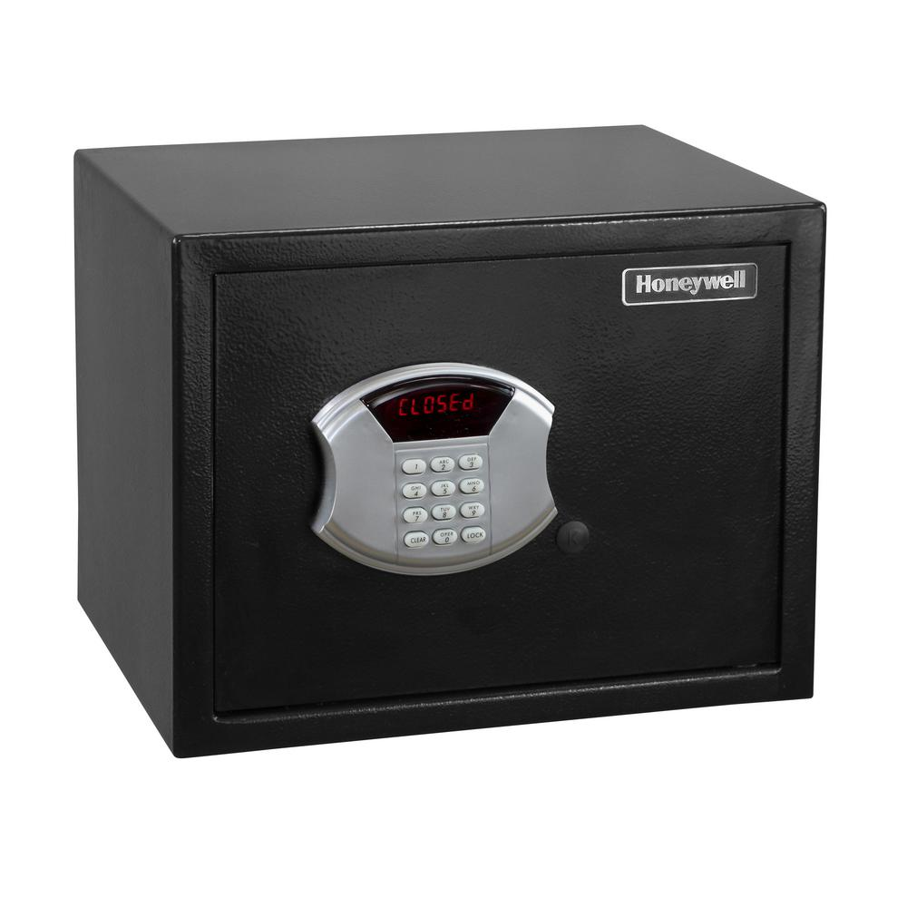 Honeywell 0.84 cu. ft. Bolt Down Steel Security Safe with Programmable Digital Lock