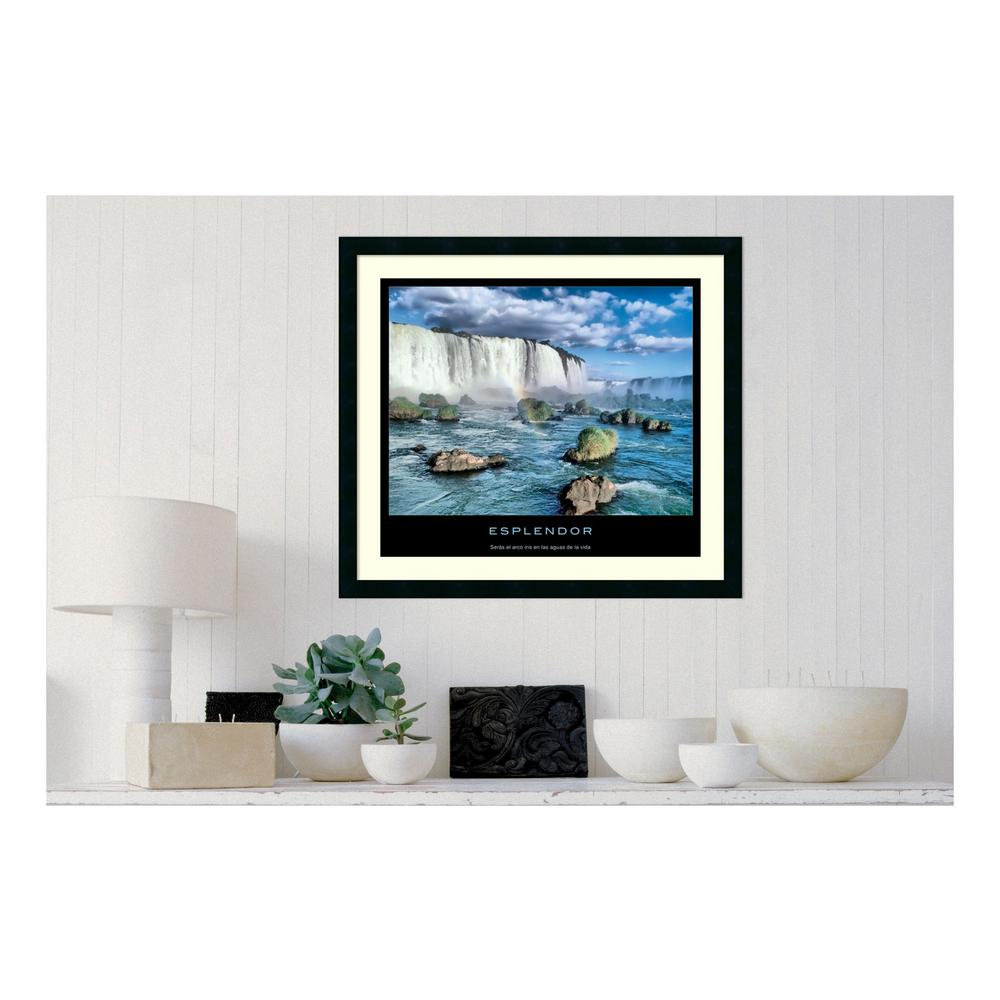 30.25 in. W x 27.13 in. H Esplendor' Printed Framed Wall