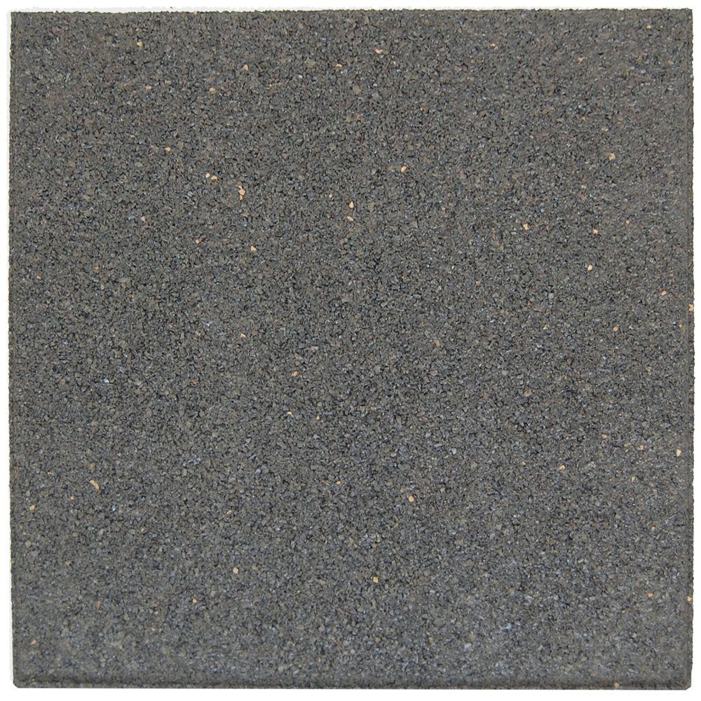 Envirotile Flat Profile 24 in. x 24 in. Gray Paver (2-Pack)