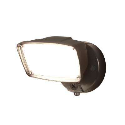 Halo flood and spot lights integrated led outdoor security 32 watt bronze outdoor integrated led flood light with high output dusk to dawn replaceable aloadofball Images