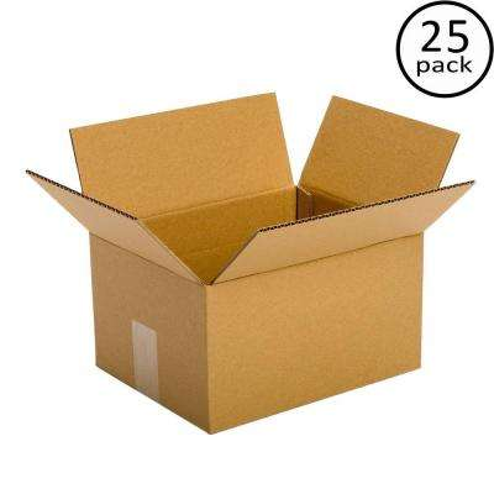10 in. x 6 in. x 6 in. 25-Box Bundle