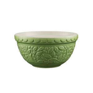 Mason Cash In The Forest Hedge Hog Green Mixing Bowl by Mason Cash