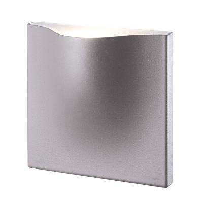 Haven Collection 1-Light Marine Grey Outdoor LED Wall Mount