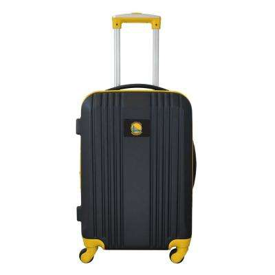 NBA Golden State Warriors 21 in. Hardcase 2-Tone Luggage Carry-On Spinner Suitcase