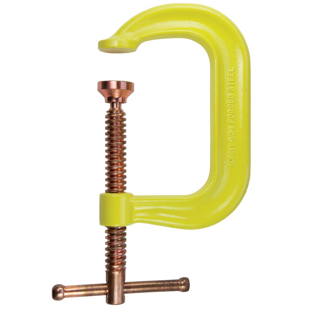 Regular Duty Drop Forged C-Clamp 2 in. Capacity 2 in. Throat