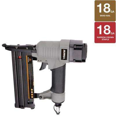 18-Gauge 2-in-1 Brad Nailer and Stapler