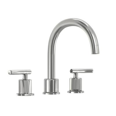 Dorset 8 in. Widespread 2-Handle High-Arc Bathroom Faucet in Chrome