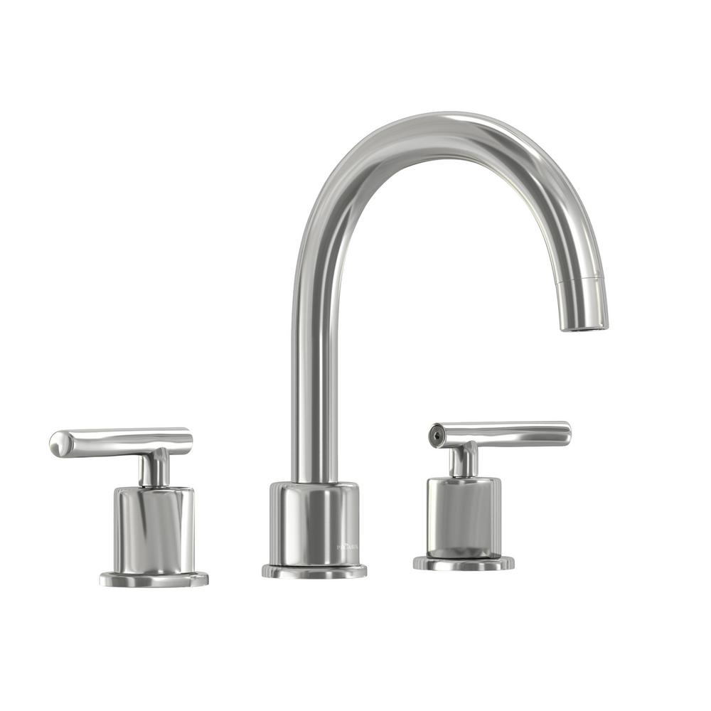 Fabulous Glacier Bay Dorset 8 In Widespread 2 Handle High Arc Bathroom Faucet In Chrome Home Interior And Landscaping Ologienasavecom