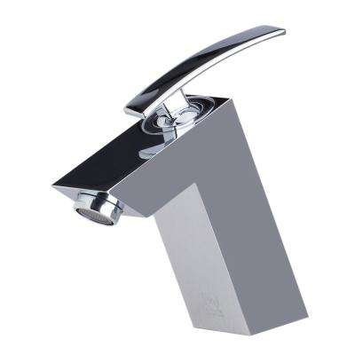 AB1628-PC Single Hole Single-Handle Bathroom Faucet in Polished Chrome