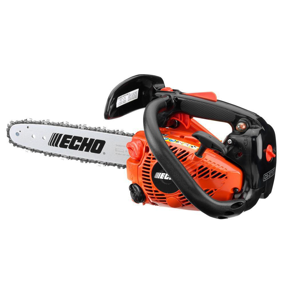 Echo 12 In 26 9 Cc Gas 2 Stroke Cycle Chainsaw With Top Handle