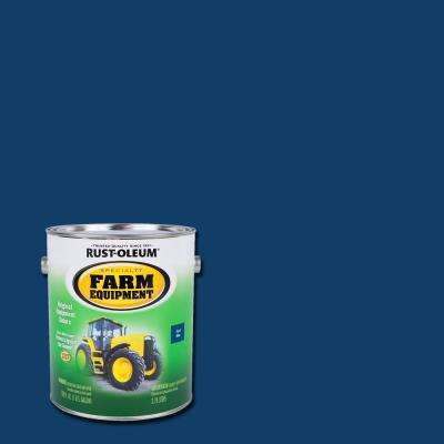 1 gal. Farm Equipment Ford Blue Gloss Enamel Paint (2-Pack)