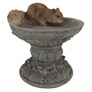 7.5 in. H Hunter The Woodland Squirrel Statue