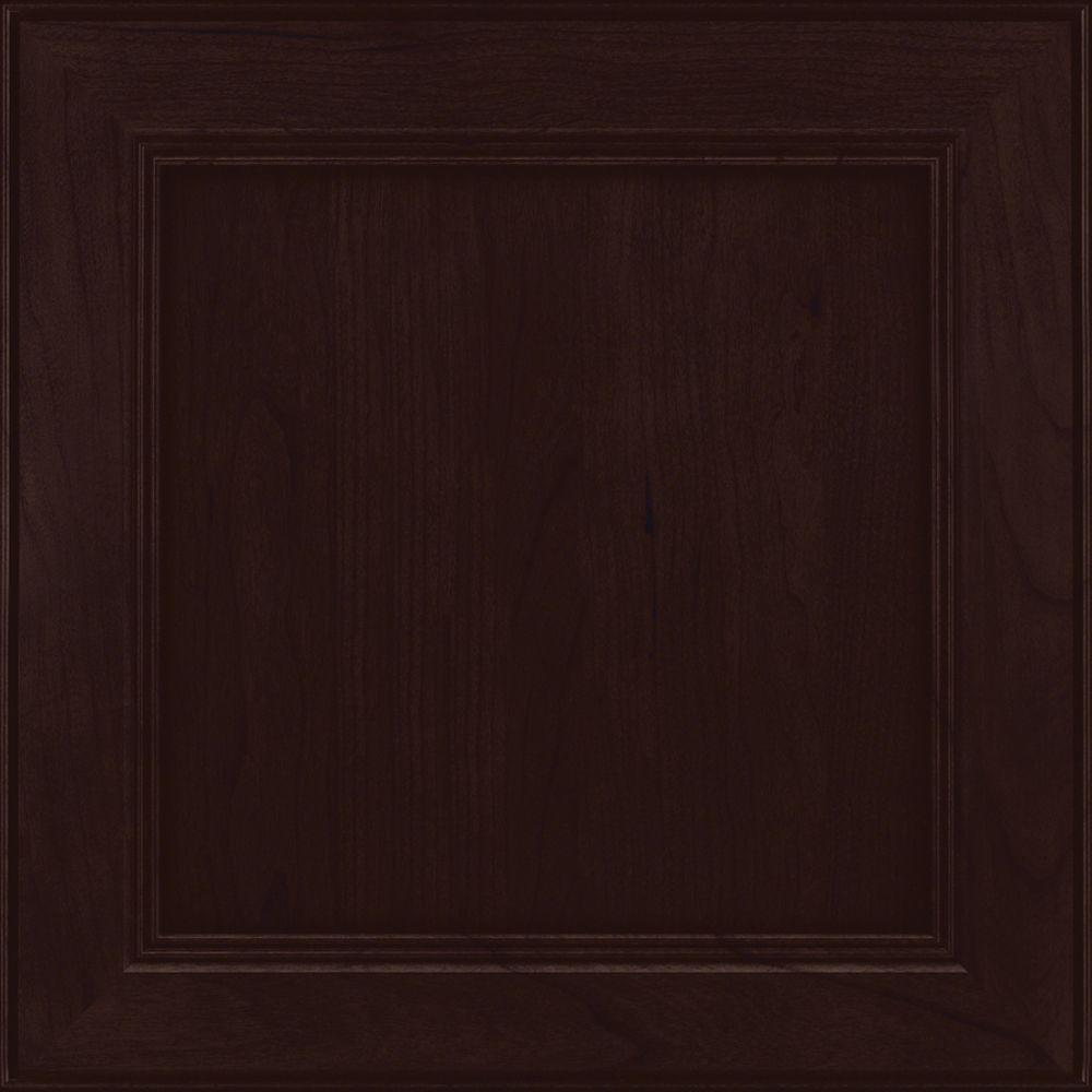 Cherry Kitchen Cabinet Doors: KraftMaid 15x15 In. Cabinet Door Sample In Parkdale Cherry