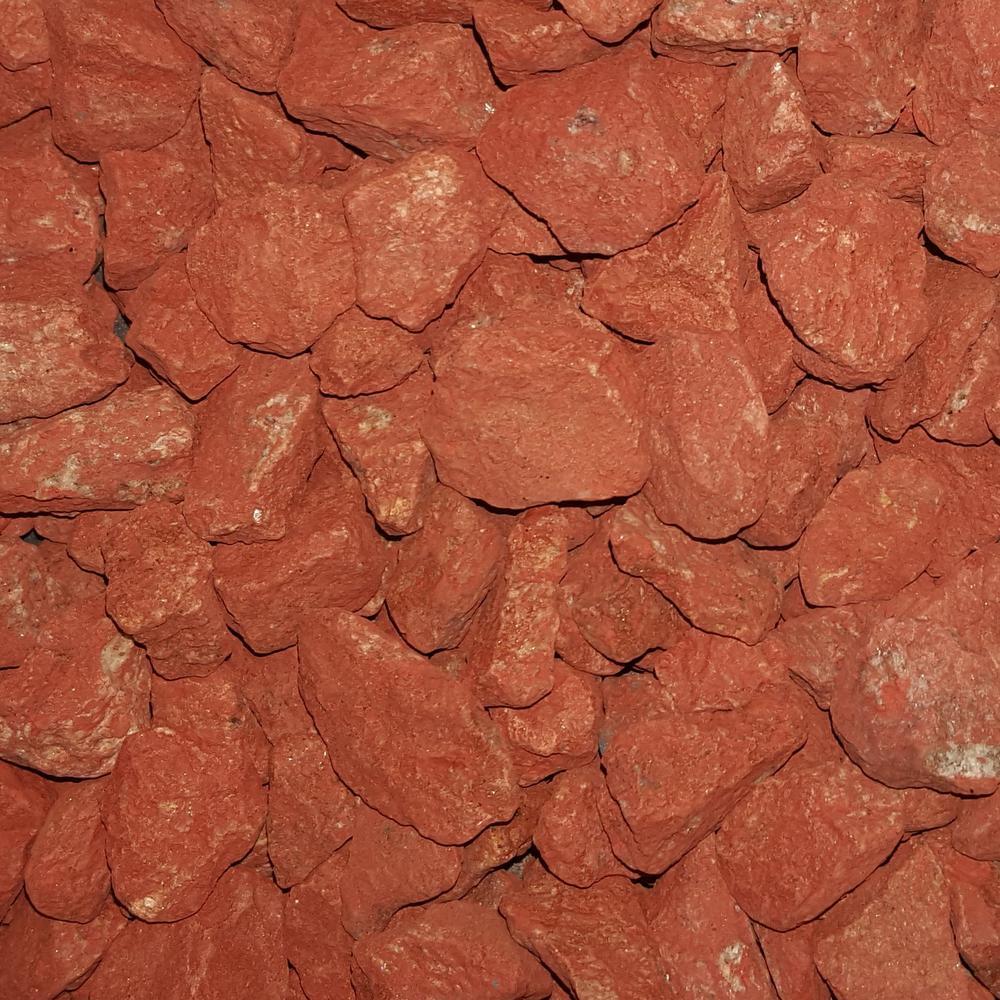 3/4 in. Scarlet Red Landscaping Gravel (2200 lb. Super Sack)