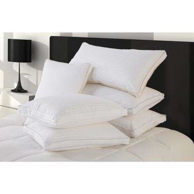 Hyper Down Medium Down Blend Standard Size Pillows with Protector (Set of 2)